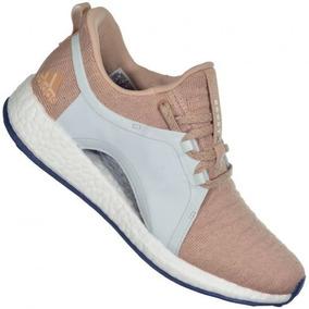 01945f9ec0e Tenis Adidas Para Sair Cinza Hemp - Adidas Rosa claro no Mercado ...