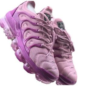 fd827a79d4a Tênis Nike Air Vapormax Plus Preto E Rosa Feminino 34 Ao 43