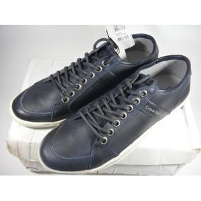 8dab0465743 Tênis De Couro Calvin Klein - Boat Leather - Couro Legítimo