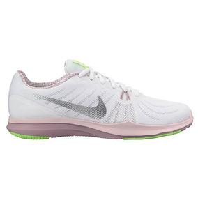 4004ac173aa77 Tenis Nike In Season 909009-104 Blanco Plata Dama Oi