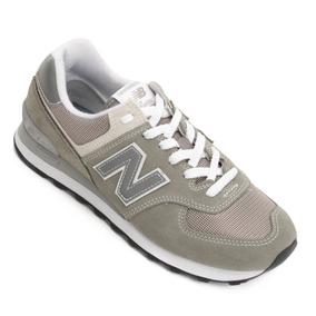 b8fd1481b15 Tênis New Balance Ml574eg Classic - Cinza E Branco