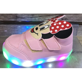272c45715e3 Tênis De Led Infantil Mickey Minie 20 Ao 27 Promoção