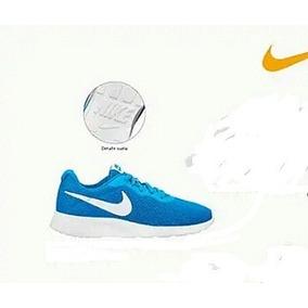 3404eda4 Tenis Nike -dama Original Mod. Wmns Nike Tanjun Azul -blanco