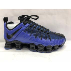 ab726aa97a94e Nike Shox Tlx . 12 Mola Azul Bebe E Branco Masculino Mizuno ...