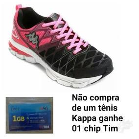 c8953b6b8f Tênis Feminino Ideal Para Caminhada. Marca Kappa. Original.