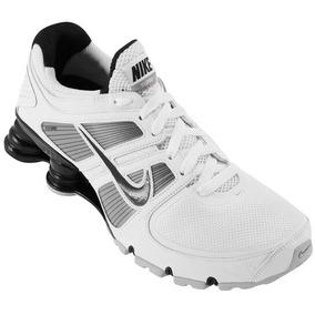 46553cdc630 Tenis Nike Shox Turbo 12 Branco E Vinho N° 43 - Nike para Masculino ...