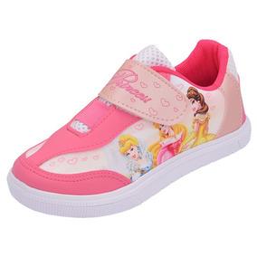 828cdf9e7b8 Tênis Personagem Infantil Princesas Menina Disney Barato