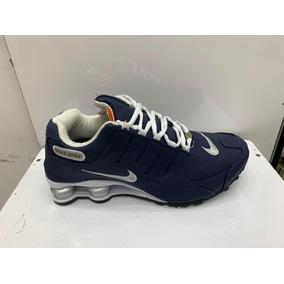 92779d9c9 Tenis Nike Shox Azul Bebe 4 Mola - Tênis no Mercado Livre Brasil