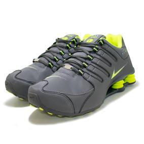 81edfa08032 Tênis Nike Shox Nz Cromado Grafite Com Vermelho - Calçados
