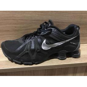 huge selection of 09c70 acde4 Tênis Nike Shox Turbo 13 Original Masculino Mola Preto Raro