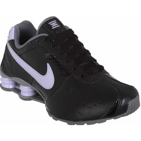 d795893f5d Tênis Nike Shox Classic Il Feminino Pr lilás Original Novo
