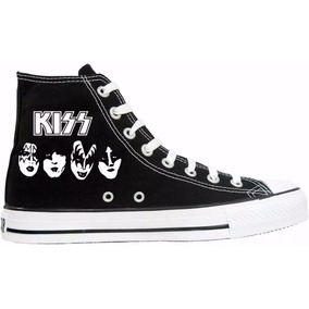 76e909f907c53 Tênis All Star Converse Personalizado Kiss Banda Rock