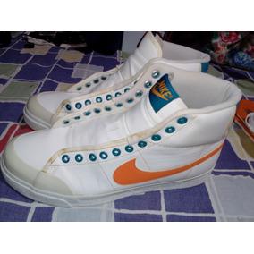 a09eb769359 Tênis Nike All Court Mid Sl Branco   Laranja