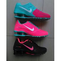 Tenis Zapatillas Nike Shox Mujer 2016 5 Colores