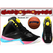 Tenis Zapatillas Reebok Pump Para Basketball Nba Baloncesto