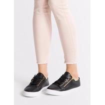 Zapatos Tenis Para Mujer Negros City Slim Importados!!!