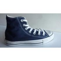 Converse All Star Azul Navy Tradicionales Originales Y Mas