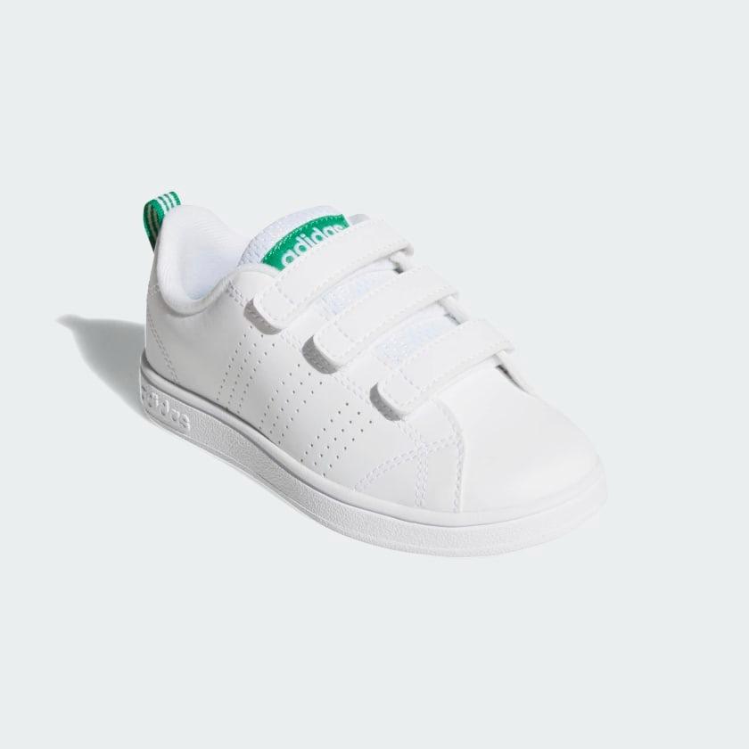 Tenis adidas Advantage Blancoverde Bebe Aw4889 Look Trendy