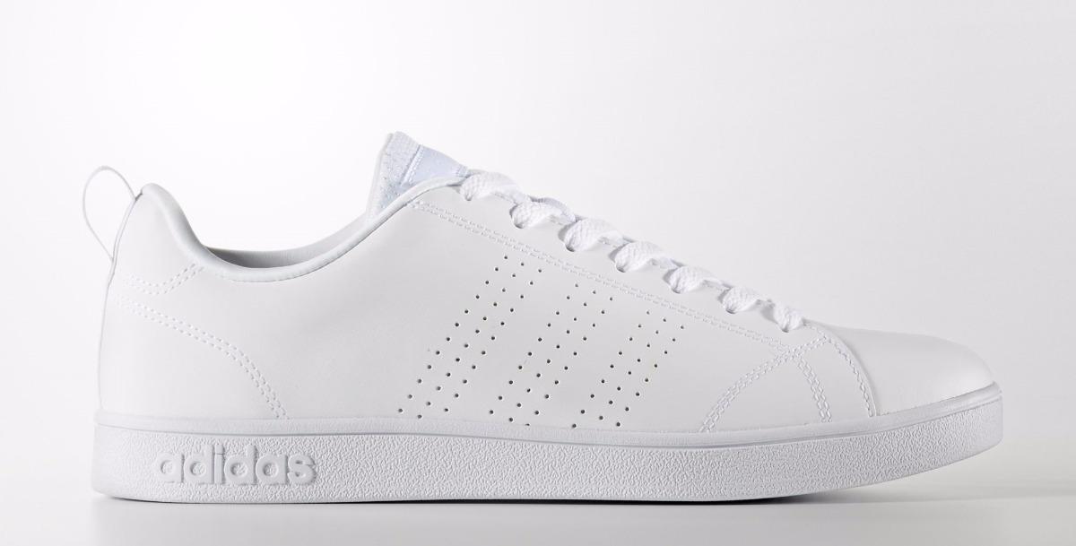 Tenis adidas Advantage Clean Blanco Azul Envío Gratis