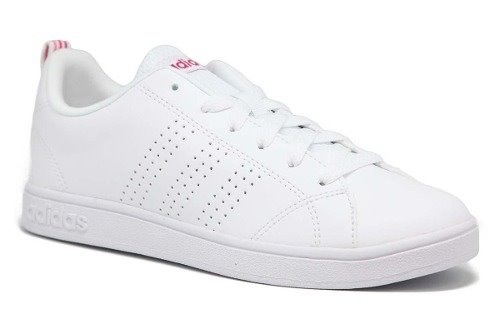 fa0819e9e5fc1 Tenis adidas Advantage Clean Mujer Bco rosa Original B74574 ...