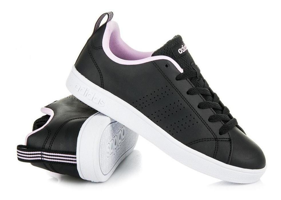 Tenis adidas Advantage Clean W - B74576 - Negro - Mujer