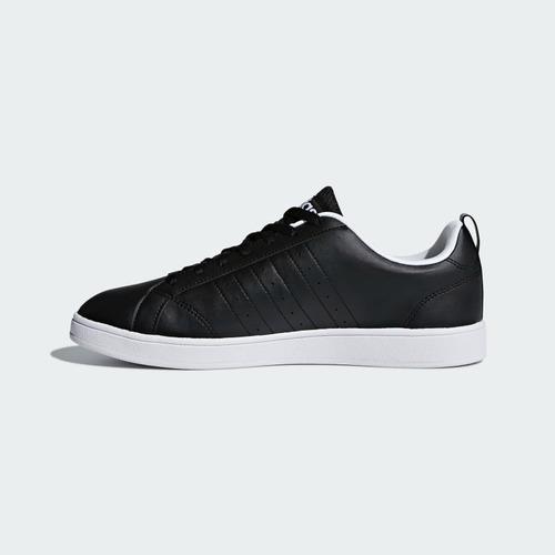 tenis adidas advantage f99254 negro-blanco hombr look trendy