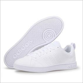 Blanco Original Adidas B74685 Tenis AdvantageHombre ALcSj35R4q