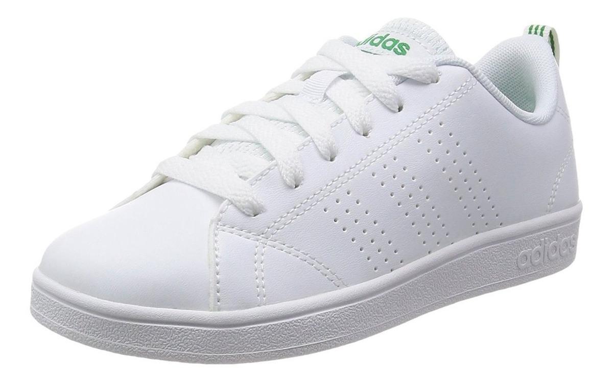 zapatillas adidas advantage verde mujer