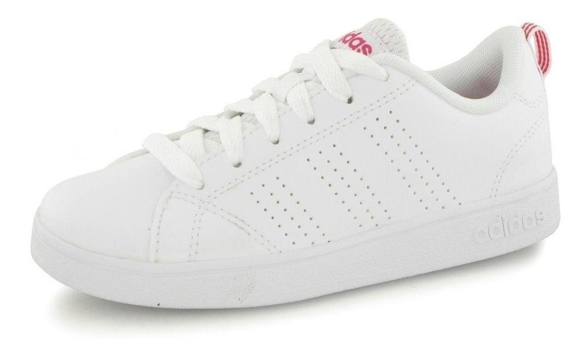 Tenis adidas Advantage Neo Blanco Mujer Niña Casual Infantil