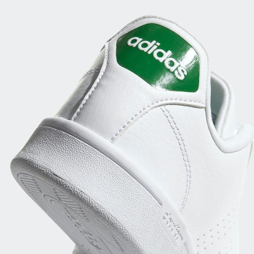 Blanco Advantage Adidas Cloudfoam Memory Foam Tenis Suela Tz1Sq