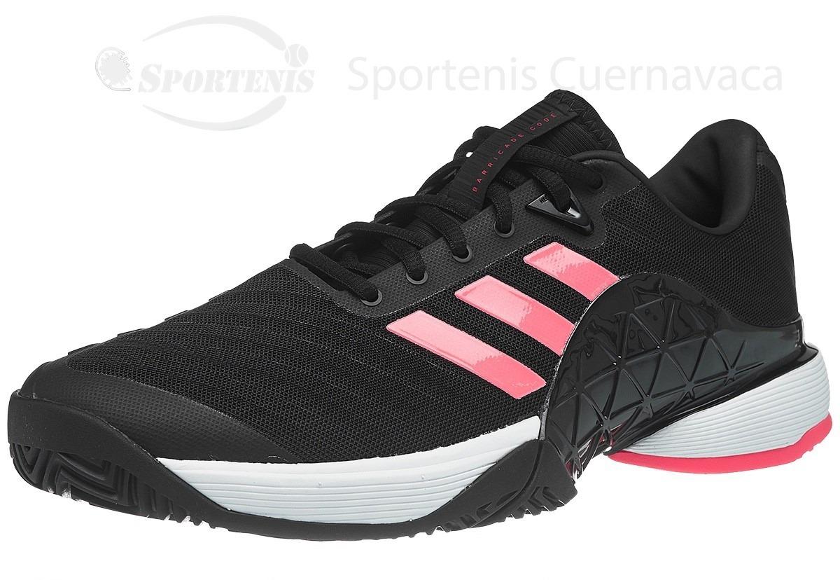 the latest 75b49 8dec7 2 18 00 Tenis 799 Rosa Mercado Adidas Barricade Negro Libre En wgpqXE7