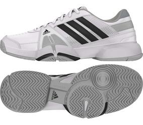 Adidas Con 3 Team Barricade Hombre Blancos Tenis Plateado eIbWE29YDH