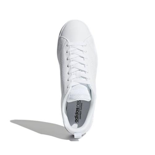 tenis adidas blanco advantage clasico original caballero