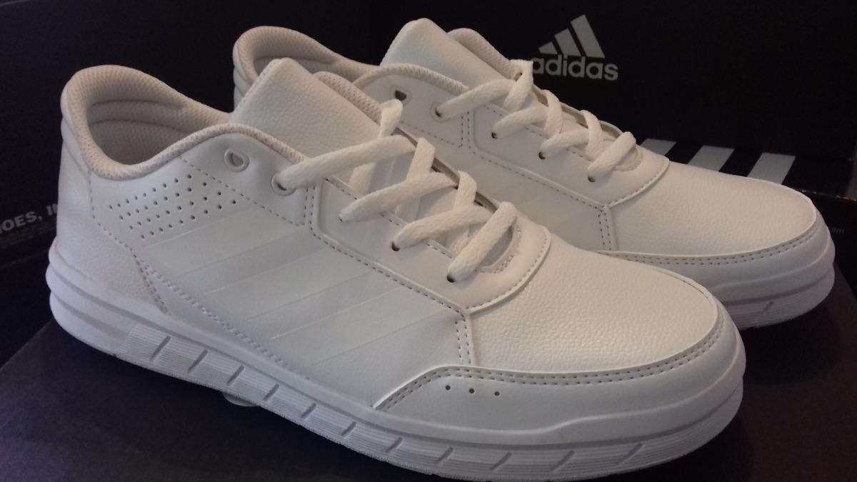 78bc4c401e374 tenis adidas blancos modelo alta run k nuevos y originales. Cargando zoom.