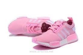 4e49f19c8 Tenis adidas Boost Nmd 100% Original Feminino Branco   Rosa - R  329 ...