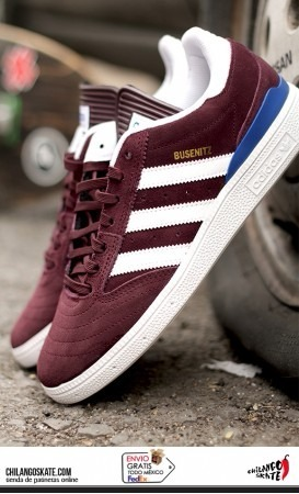official photos 0bfbc 90376 tenis adidas busenitz pro burgundy