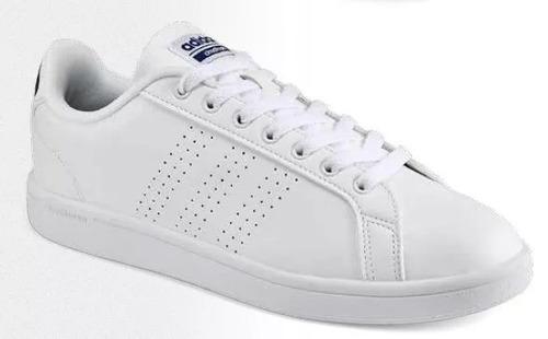 tenis adidas caballero. color blanco. b9624 tallas 27 a 30