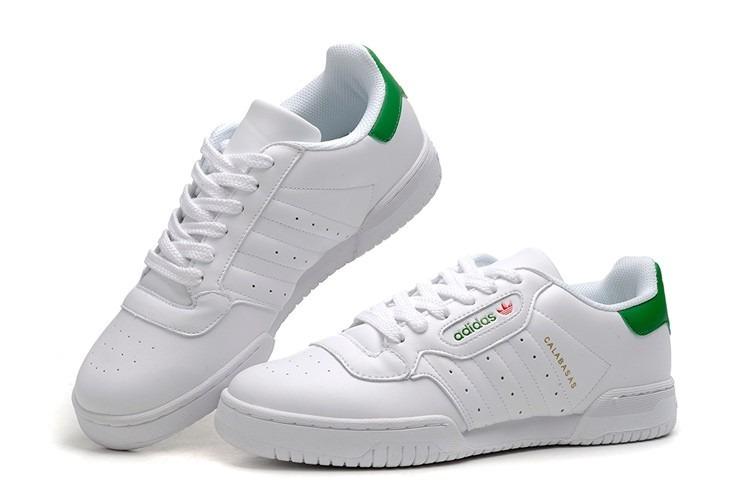 Calabasas Zapatillas Tenis Blanco Verde Clásicos Con Adidas qwC8ZH