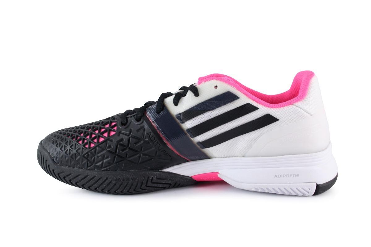 c6d237ea245 Tenis adidas Cc Adizero Feather 3 - Negro Con Rosa B44213 ...