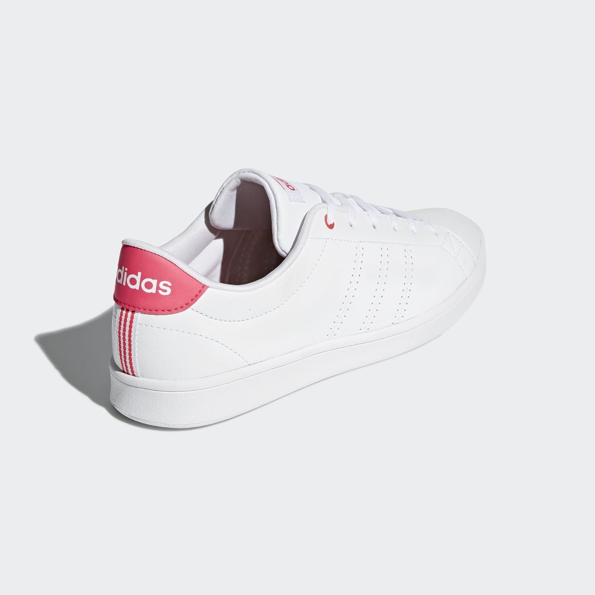 Tenis adidas Clean Qt Blancorosa Mujer Db1844 Originales