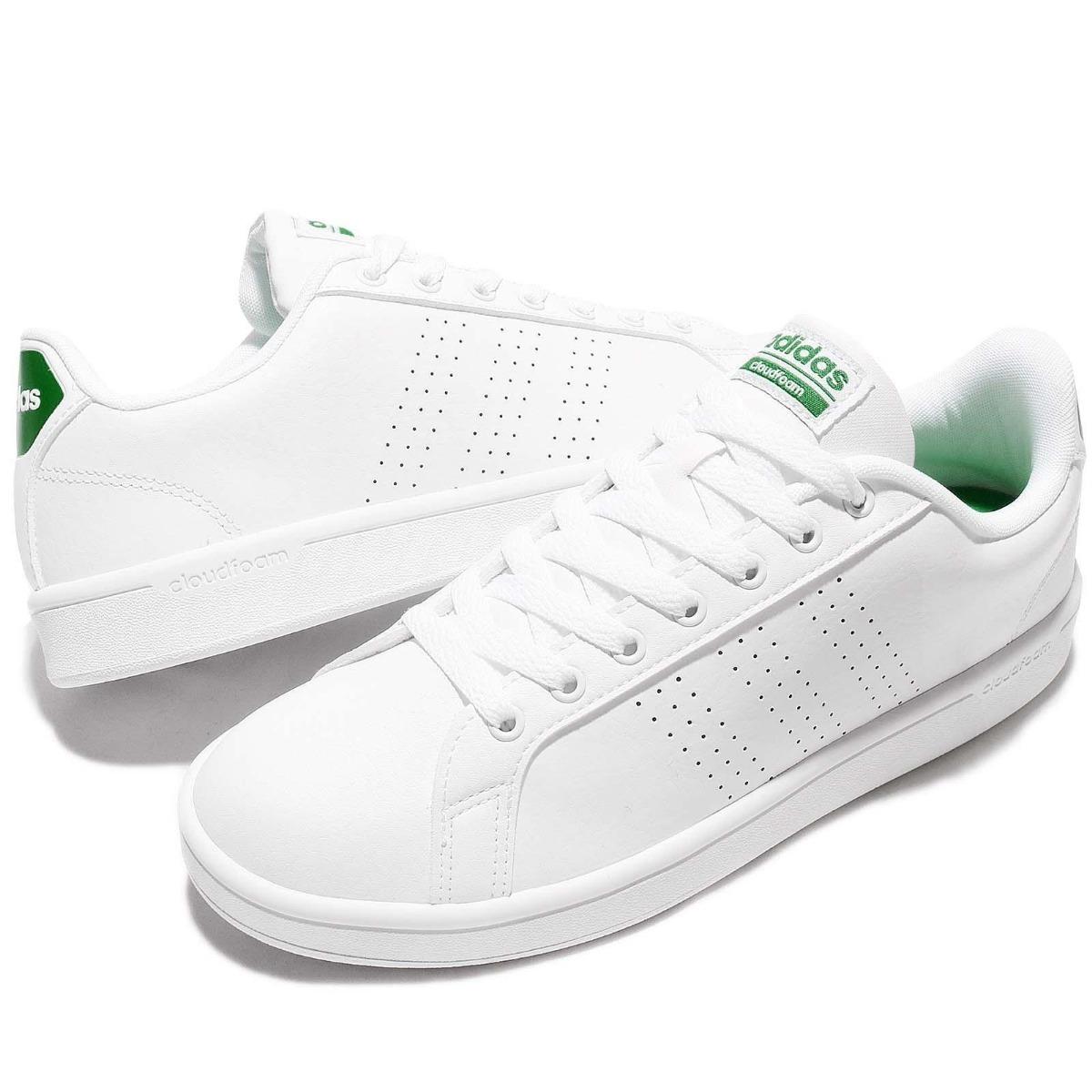 fc057d218d3 Tenis adidas Cloudfoam Advantage Clean Blancos Casuales Orig ...