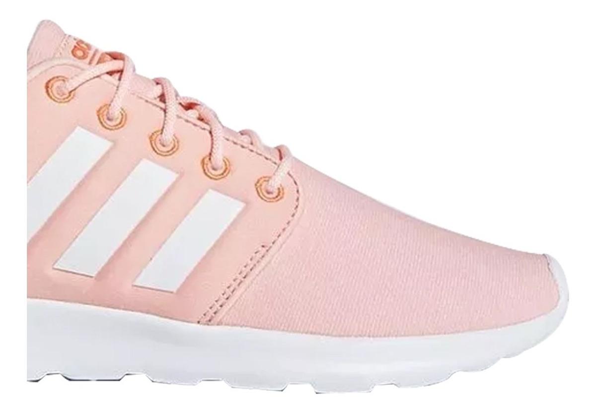Tenis adidas Cloudfoam Qt Racer Mujer Originales Rosa Coral