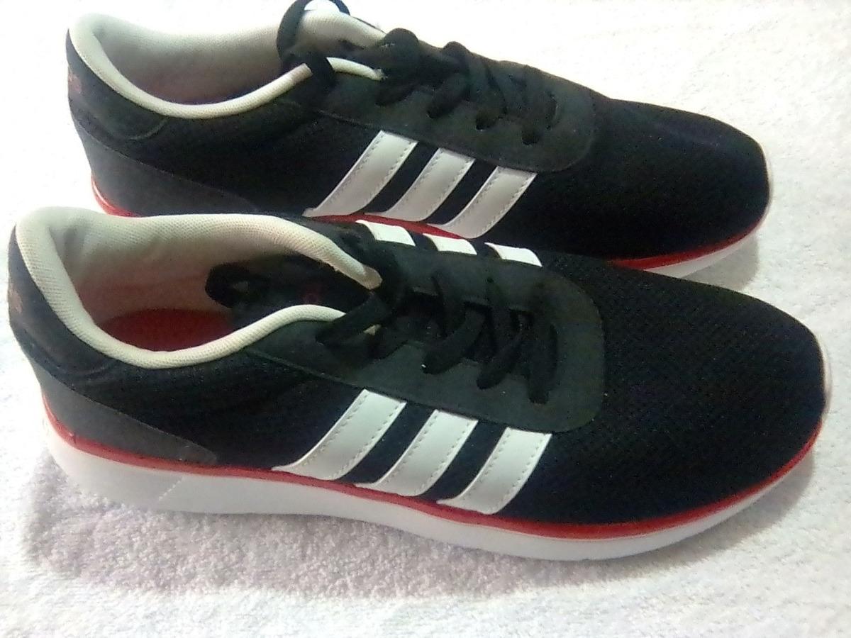 zapatos adidas color blanco rojo