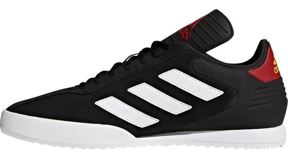 Tenis adidas Copa Super Sala Suela Blanca Original Black Rod