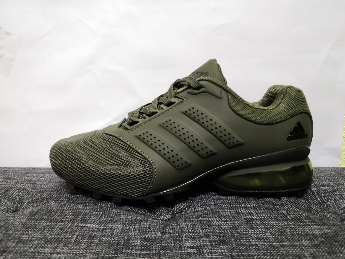 Tenis adidas Cosmic Unisex Verde Militar Envio Gratis