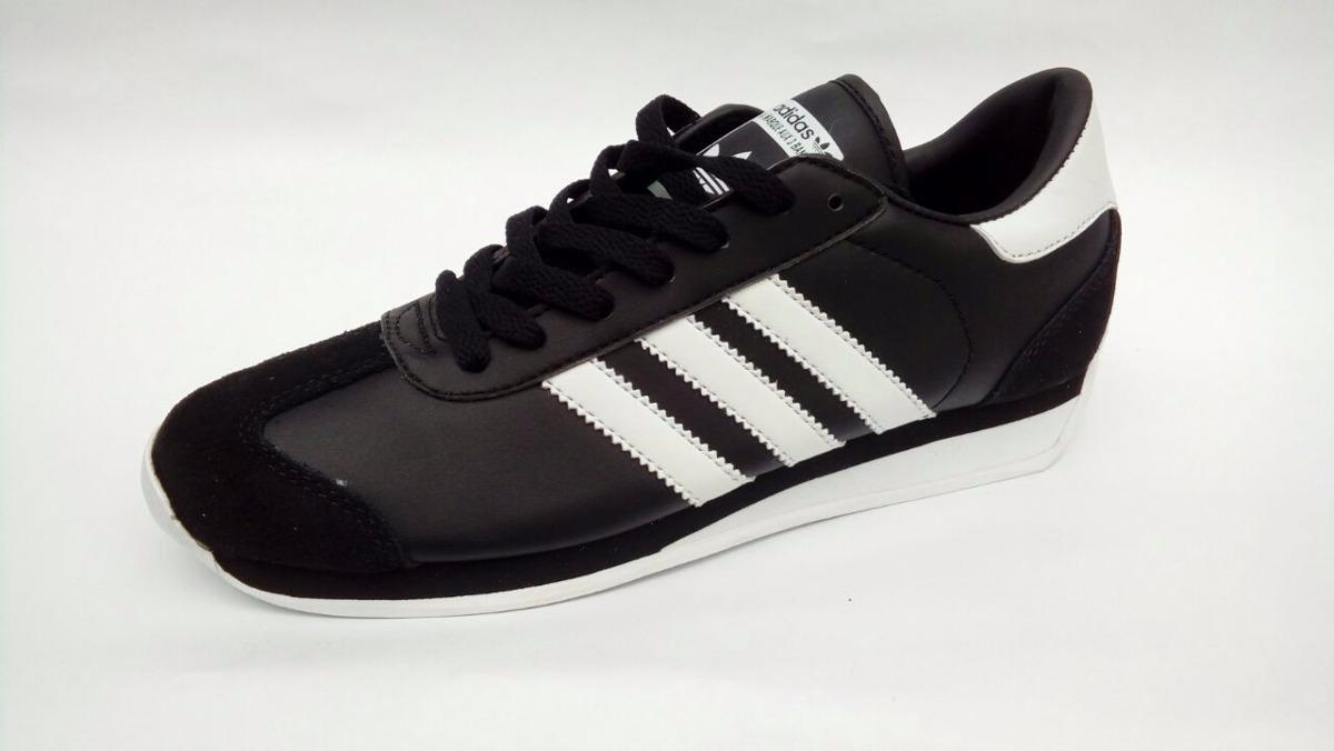zapatillas adidas country negras