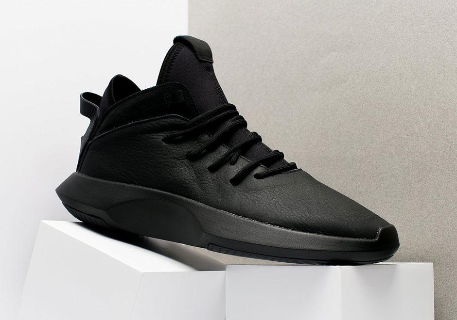 sale retailer 2de1a e1a5b Tenis adidas Crazy 1 Adv Sheds Primeknit For Black Leather ...