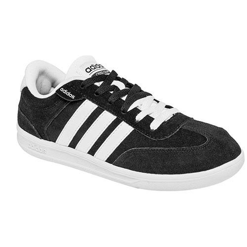 tenis adidas negro y blanco