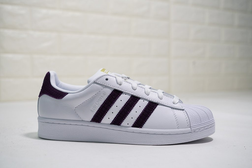 superstar adidas moradas