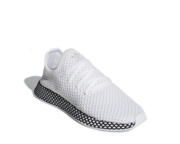 cheap for discount f4ce8 c5f2b tenis adidas deerupt runner blancos con negro, zapatillas.